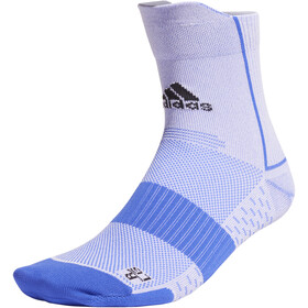 adidas RUNadiZero Ankle Socks Men, blu/bianco